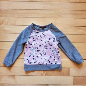 7 For All Mankind Toddler Girls Floral Top